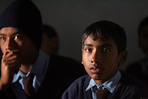 Students at Shreeshitalacom Lower Secondary School. Kaski, Nepal | by World Bank Photo Collection