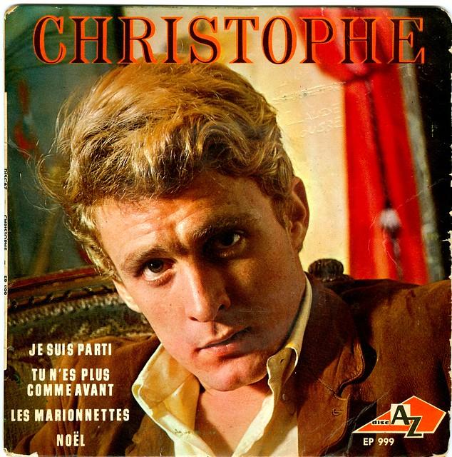2 - Christophe - Je  Suis Parti - Les Marionettes - EP - F - 1965