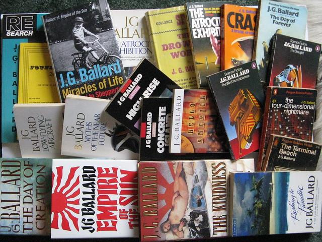 Some Books by & about J. G. Ballard