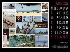 wallpaper calendar for august 2009, freak-out in  goa | by nevil zaveri (thank you for 15+ million views:)