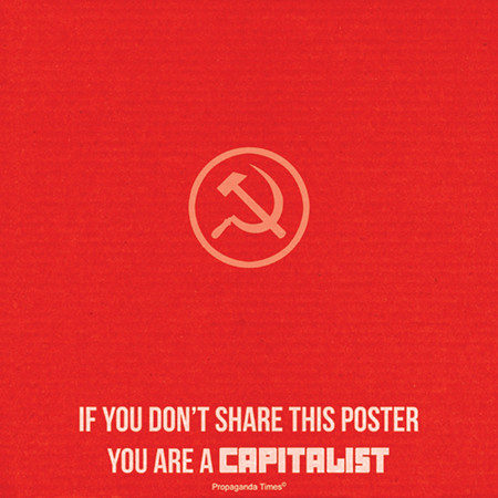 If you don't share this poster...