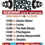 Tue, 11/03/2014 - 1:06pm - WFUV and five of our friends throw a concert, Friday March 14 from SXSW Ground Zero. Here's the lineup.