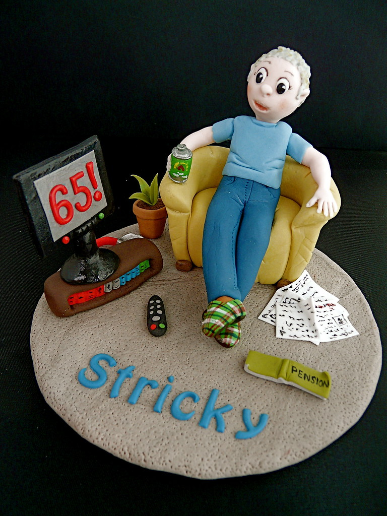 Amazing 65Th Birthday Cake Topper Im Not Doing The Whole Cake As Flickr Funny Birthday Cards Online Inifofree Goldxyz