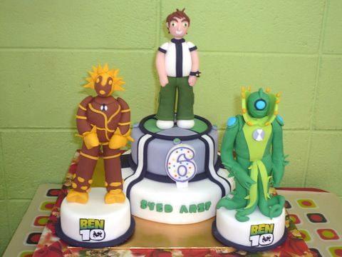 Superb Ben10 Alien Force Birthday Cake Phooi Fong Lai Flickr Funny Birthday Cards Online Elaedamsfinfo
