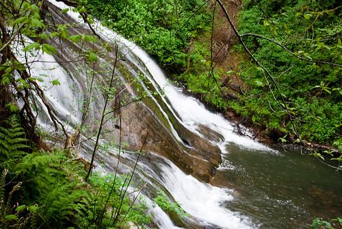 park lake creek waterfall washington state falls sylvia monteano