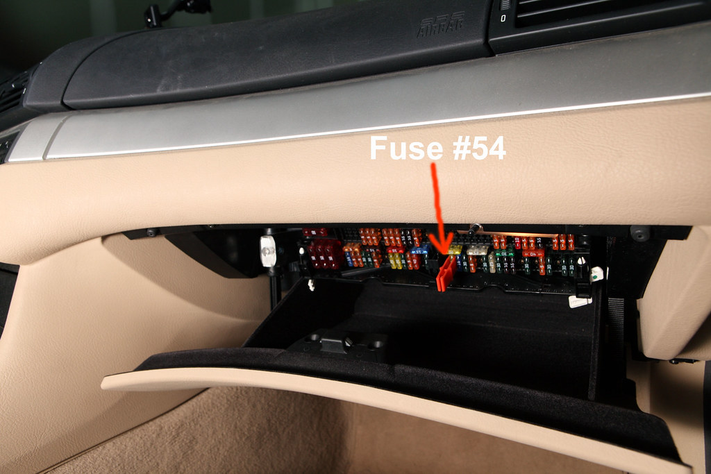 open fuse box, take out #54 | part of E46 BMW fuel filter re ... Open Fuse Box Car on
