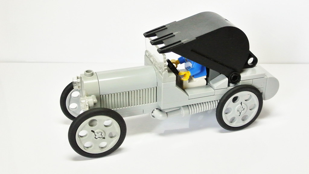 Veteran Car Moc My Own Lego Creation Here You Can Watch Flickr