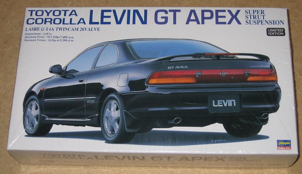 Toyota Corolla Levin AE101 GT Apex | Hasegawa 20254 1/24 CO