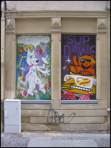 Graffiti in Luxembourg City   by Wagsy Wheeler