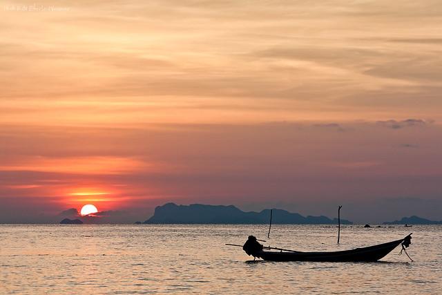 Peaceful end of a day (Ko Samui)