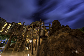 Nighttime @ Disney's Aulani Keiki Cove 01 | by JUNEAU BISCUITS