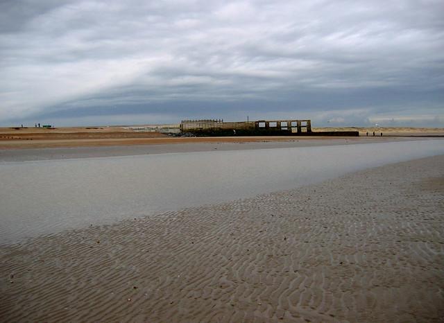 The beach near Rye