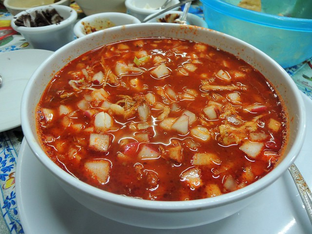 Pozole by bryandkeith on flickr