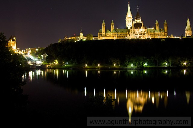 Parliament Hill Reflection