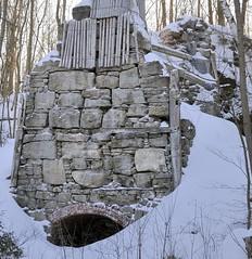 Abandoned 19thC lime kiln - Limehouse, Halton Hills, Ontario