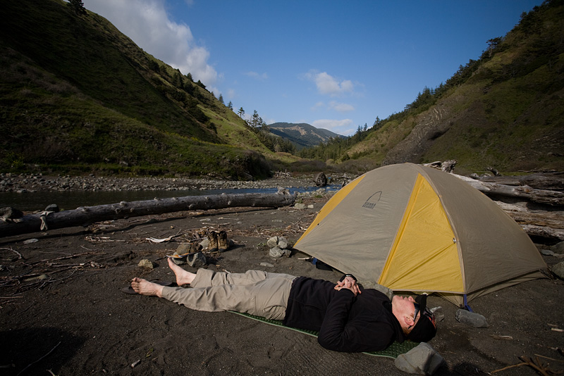 Camp at Cooksie Creek by AlwaysJanuary (Randy)