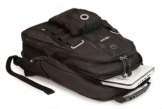 Mobile Edge Netbook Backpack layed flat | by Mobile Edge Laptop Cases