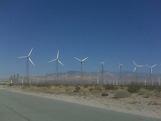 Possibly a Better Picture of a Wind Farm in Palm Springs | by foundinblank