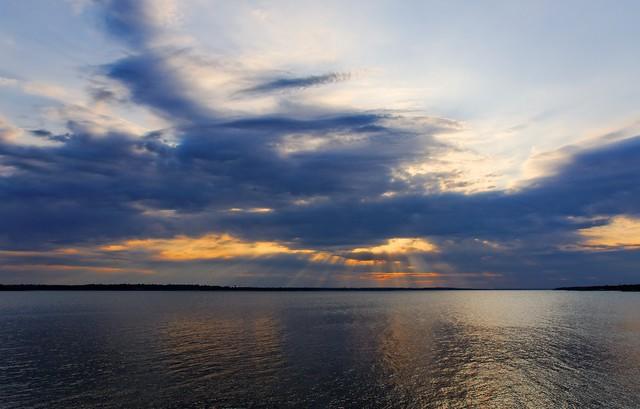 Grapevine Lake Sunset - #0411