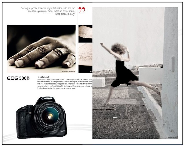 Two administrators of ArtLibre in the new Canon Brochure