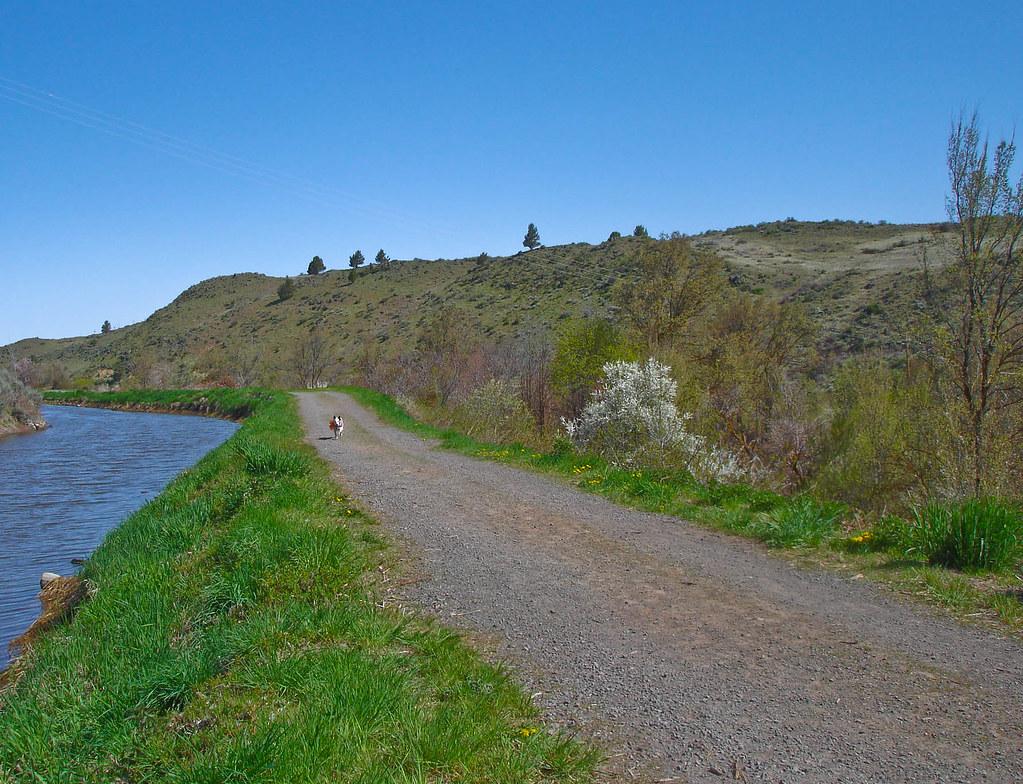 Link River Nature Trail, Klamath Falls, Oregon