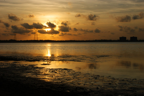 sunset beach landscape sony panamacity a350