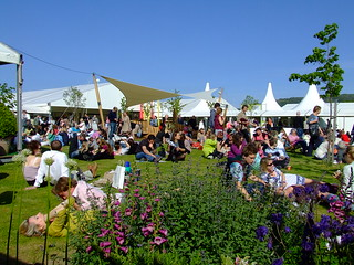 Hay Festival | View of the central area of the Hay Literatur… | Flickr