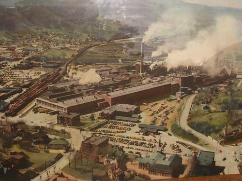 nc canton vintagephotograph championpapermill haywoodcounty