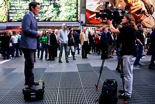 Reporter, Mike Amor on New York security in Times Square