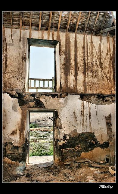 Detalles de Casa Abandonada