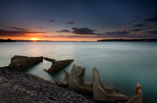 longexposure sunset newzealand marina auckland filter nz nd graduated westhaven