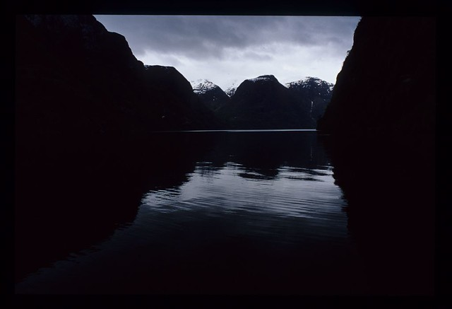 Sogn fjord, Norway
