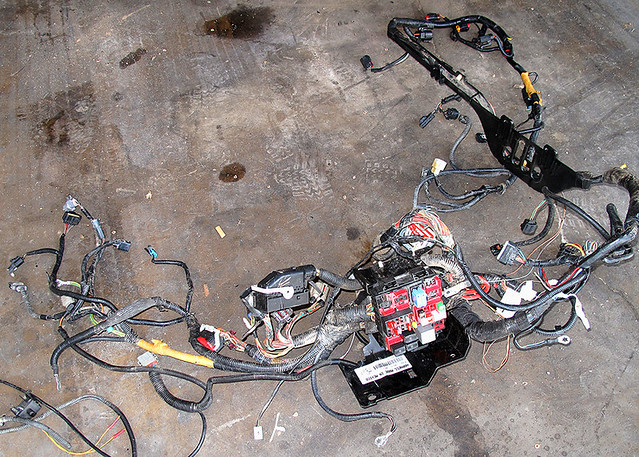 Main Wiring Harness Ford Engine on