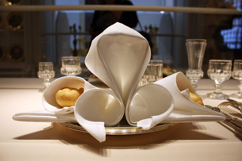 Official Hapsburg Napkin Arrangement at the Hofburg | by SBC9