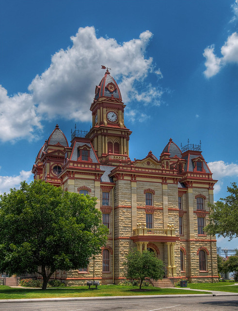 Caldwell County Courthouse HDR