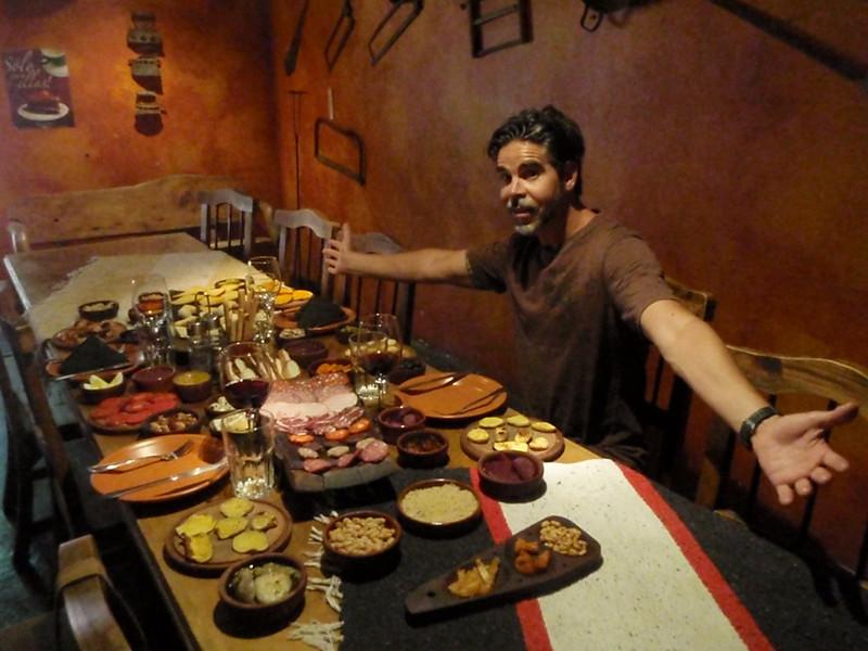 Feasting in Mendoza