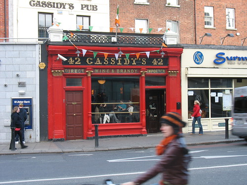 Cassidy's Pub - near hotel in Dublin   by Mary Brooks