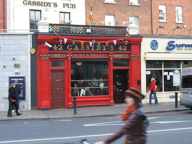 Cassidy's Pub - near hotel in Dublin