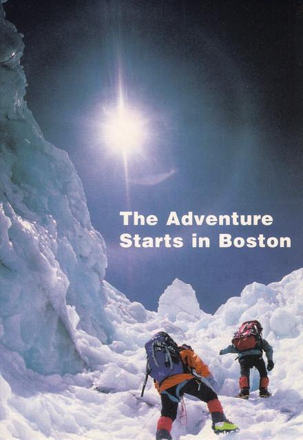 Boston Museum of Science Ad Postcard