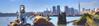 New York City Skyline with Monopoly Dog by -ytf-
