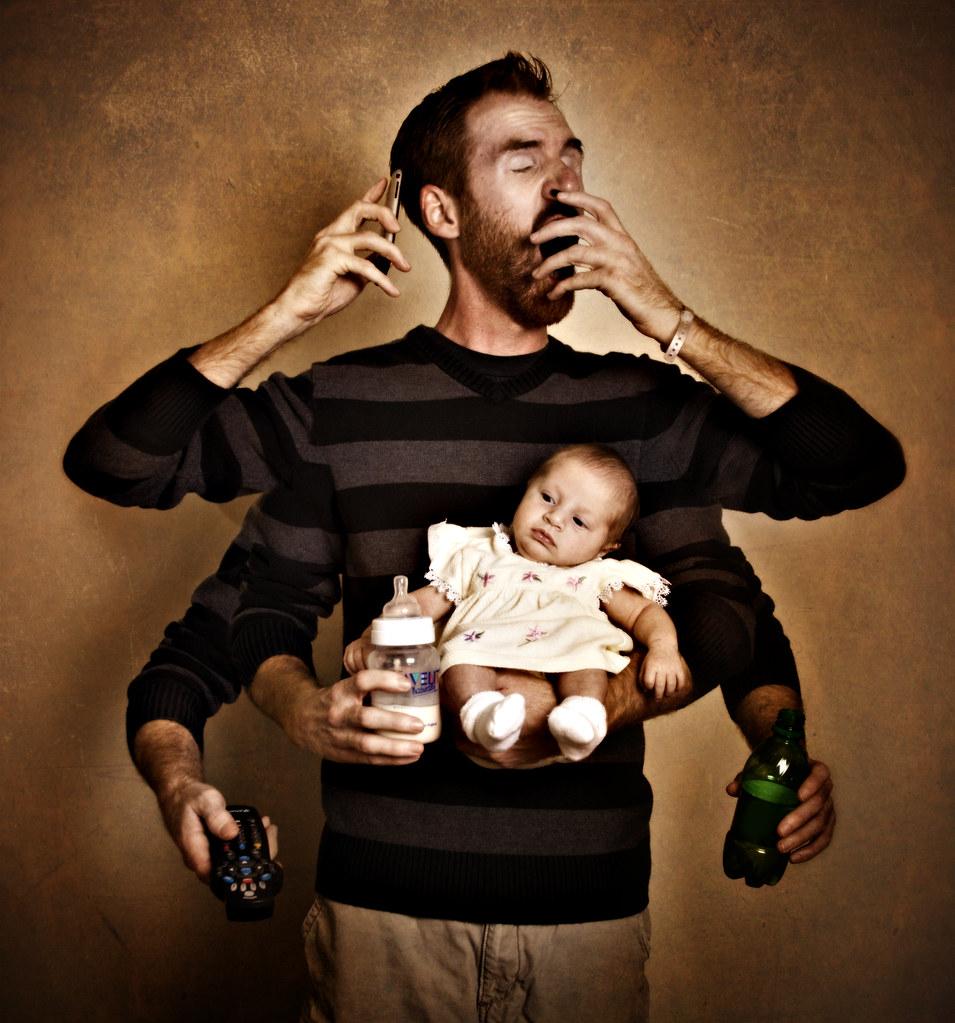 Картинки мужчина с детьми прикольные