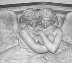 Memorial to Grace Bagge (detail, Richard Westmacott, 1820s)