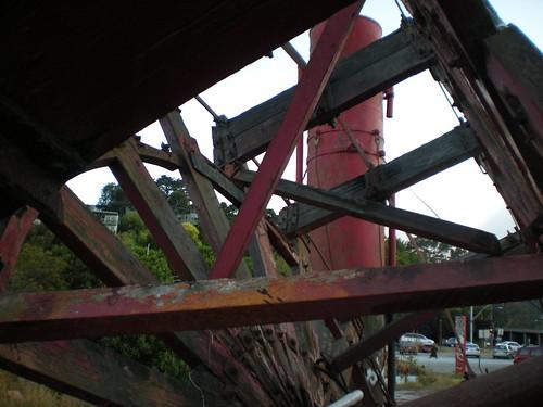 Steamstack thru Paddlewheel~Artifact Remains?