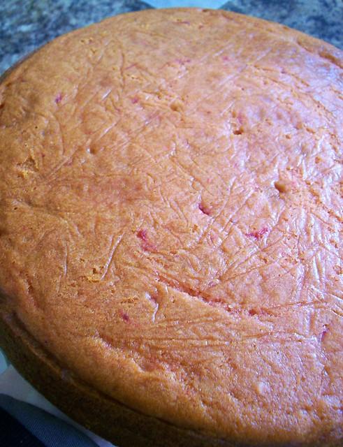Jammin' Strawberry Pound Cake