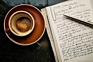 Coffee and notes | by Rainer Tenhunen