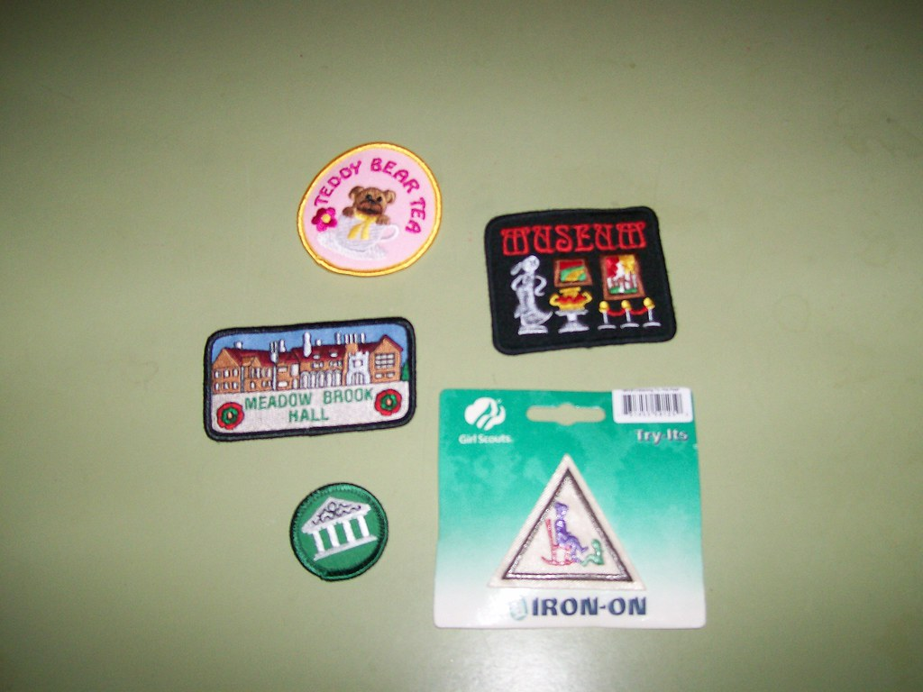 Girl Scout Patches | Girl Scouts come learn about Meadow Bro