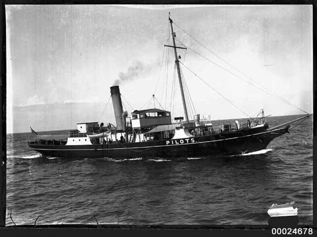 CAPTAIN COOK (II) pilot vessel   Flickr - Photo Sharing!