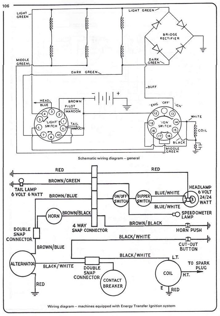 100 Cub Wiring Diagram