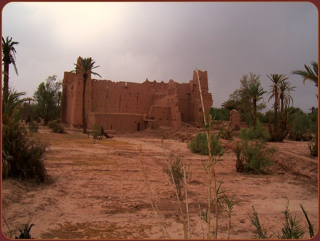 In Morocco an old, old, old kasbah