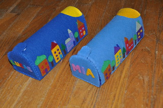 Felt mailboxes | by littlesisterhandmade